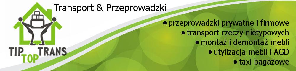 TipTopTrans Przeprowadzki Wrzeszcz Baner